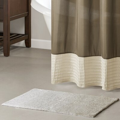 Armel Cotton Tufted Bath Rug Color: Taupe