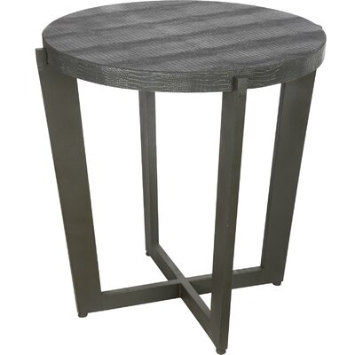 Mae End Table Color: Black