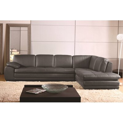 Stockbridge Modular Sectional Upholstery: Gray, Orientation: Right Hand Facing