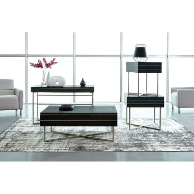 Vera Rectangular 3 Piece Coffee Table Set