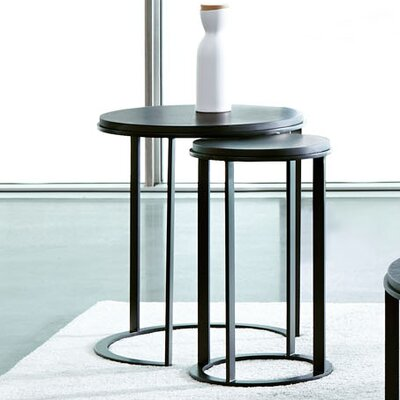 Maureen Round 2 Piece Nesting End Tables
