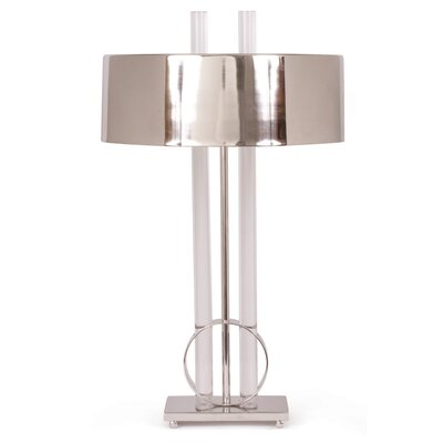 "Marvelous 26"" H Table Lamp with Drum Shade OREL6050 41152966"