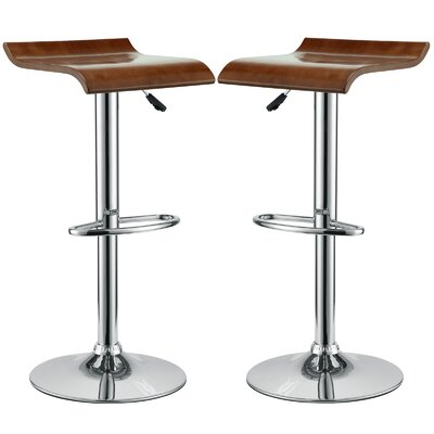 Brighton Adjustable Height Swivel Bar Stool