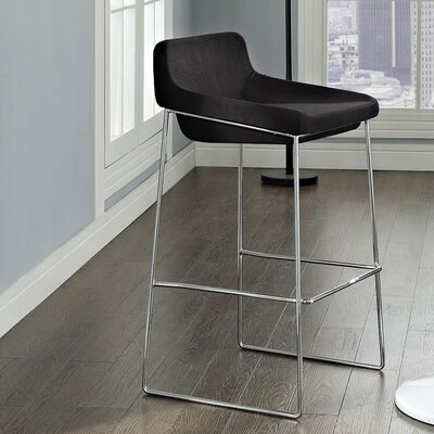 Samoset 29 Bar Stool Upholstery: Black