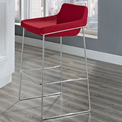 Samoset 29 Bar Stool Upholstery: Red