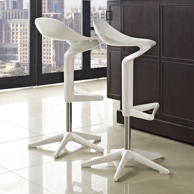 Taryn Adjustable Height Swivel Bar Stool