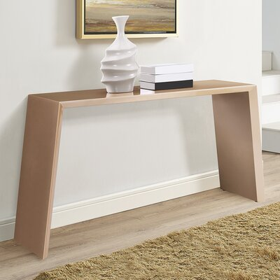 Emmaus Console Table Finish: Gold