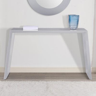 Emmaus Console Table Finish: Gray