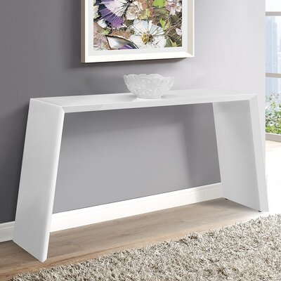 Emmaus Console Table Finish: White