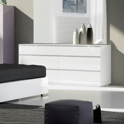 Barcroft 6 Drawer Double Dresser