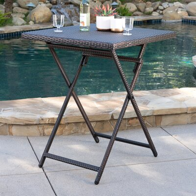 Kent Outdoor Wicker Bistro Table