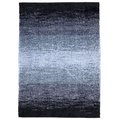 Yvonne Shimmer Purple/Gray Area Rug