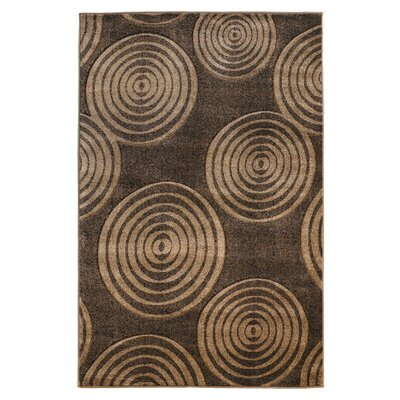 Sasha Brown Area Rug Rug Size: 5 x 77