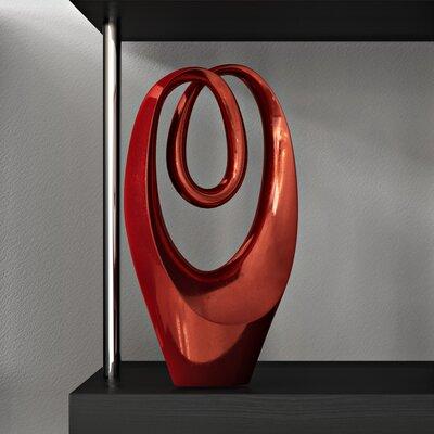 Stone Foil Sculpture Color: Sun-Red Volcanic WLGN3608 43008203