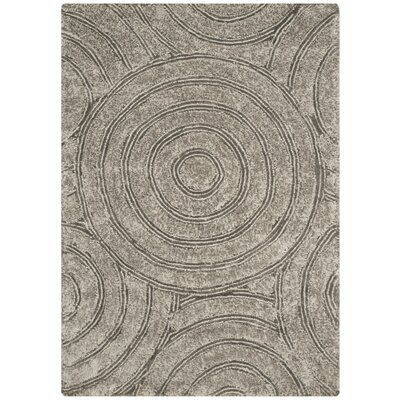 Swanson Silver Contemporary Rug Rug Size: 3 x 5