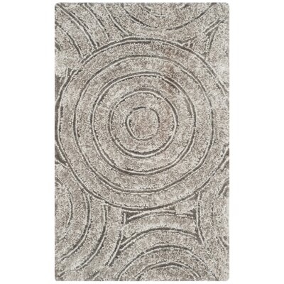 Swanson Silver Contemporary Rug Rug Size: Rectangle 23 x 4