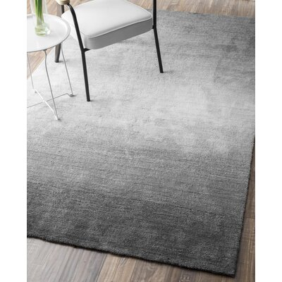 Arboleda Hand-Tufted Gray Area Rug Rug Size: Rectangle 6 x 9