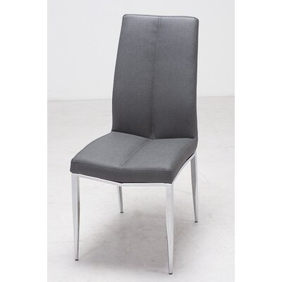 Heather Side Chair (Set of 4) Upholstery: Ash