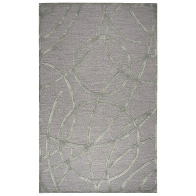 Climenhaga Hand-Tufted Tan/Gold Area Rug Size: Rectangle 8' x 10'
