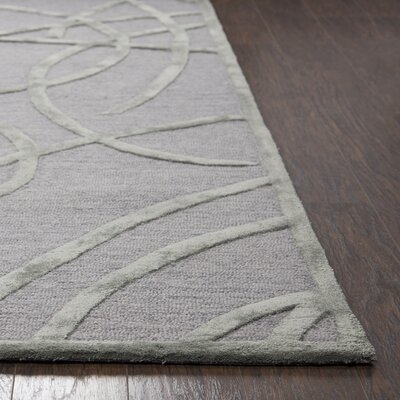 Climenhaga Hand-Tufted Tan/Gold Area Rug Size: Runner 26 x 8
