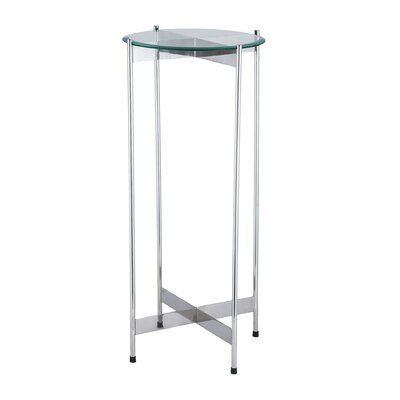 Fischer End Table Color: Chrome