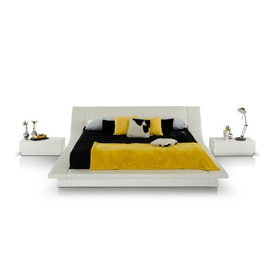 Ternes Upholstered Platform Bed Size: Queen