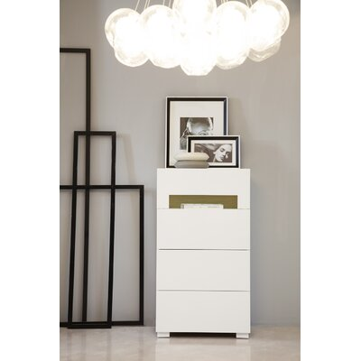 Camron 4 Drawer Chest with Light