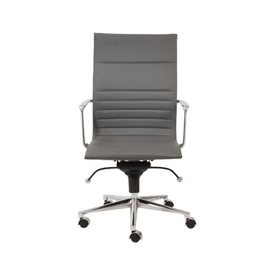 Keeter Contemporary Desk Chair Upholstery: Gray