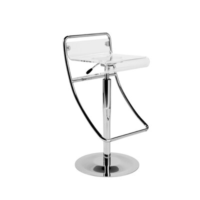 Orleans Adjustable Height Swivel Bar Stool