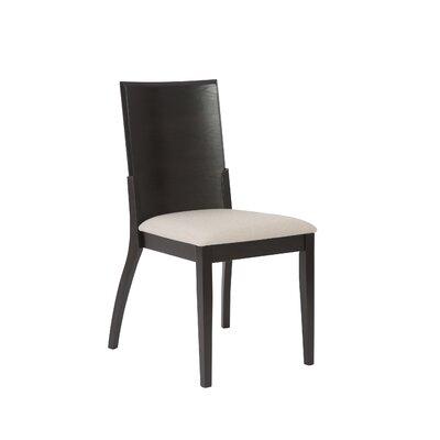 Mayela Side Chair Frame Finish: Wenge