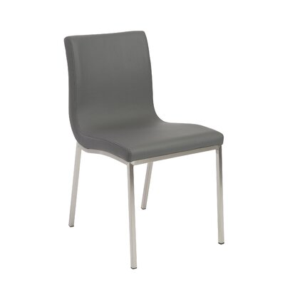 Jayla Side Chair Upholstery: Gray