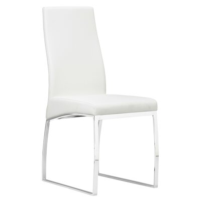 Bunce Side Chair Upholstery: White
