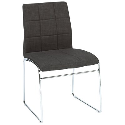 Amanda Side Chair Color: Gray