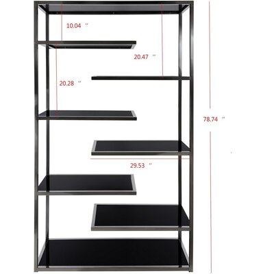 William Accent Shelves Bookcase 3109 Product Photo