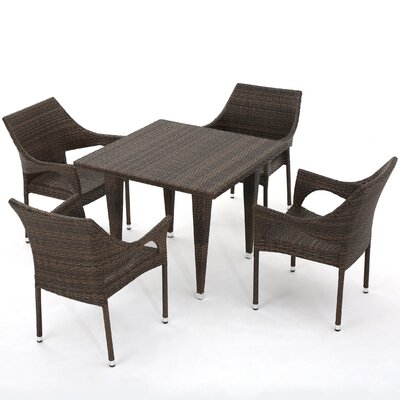 Gia Outdoor Wicker Dining Set 779 Item Image