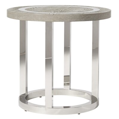 Vighnesh Modern Round End Table