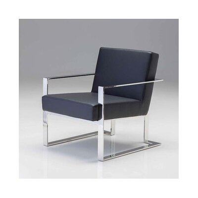 Karen Armchair Upholstery: Black