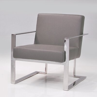 Karen Armchair Color: Grey