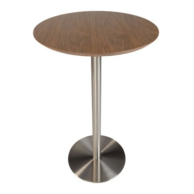 Beadles 26 Pub Table Color: Walnut
