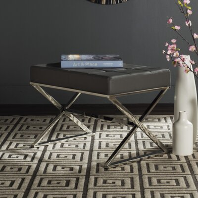 Cochran Ottoman Upholstery: Gray