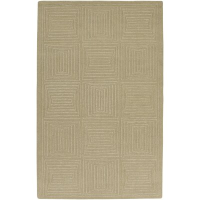 Brylee Taupe Area Rug Rug Size: Rectangle 5 x 8