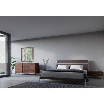 Dorian Panel 4 Piece Bedroom Set Size: Queen