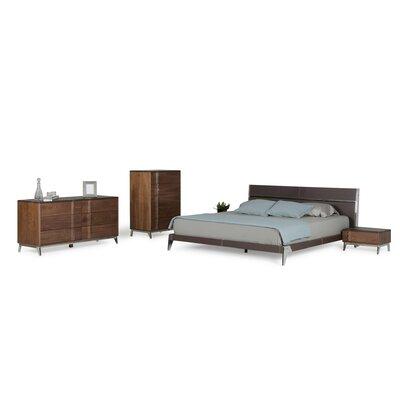 Dorian Panel 4 Piece Bedroom Set Size: King