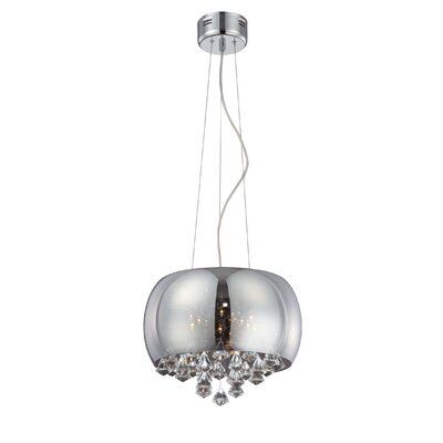 Beldin 5-Light Drum Pendant