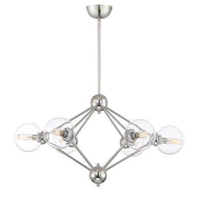 Valetta 6-Light Sputnik Chandelier Size: 73.5 H x 30 W x 30 D