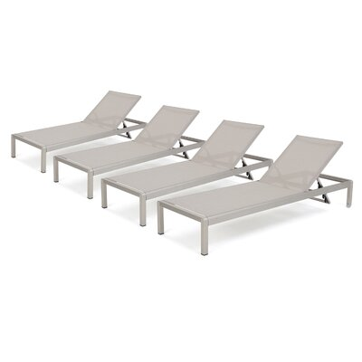 Kit Mesh Chaise Lounge
