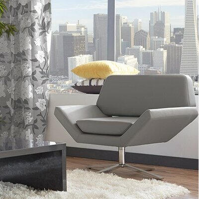 Cohen Lounge Chair Color: Gray
