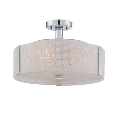 Glenlee 3-Light Semi Flush Mount