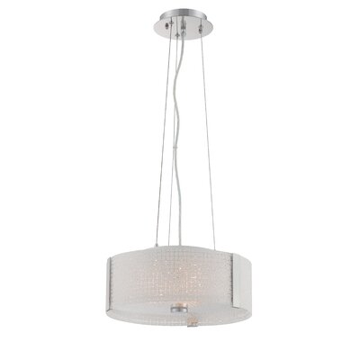 Glenlee 3-Light Drum Pendant