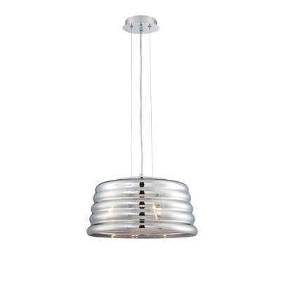 Menzies 3-Light Drum Pendant